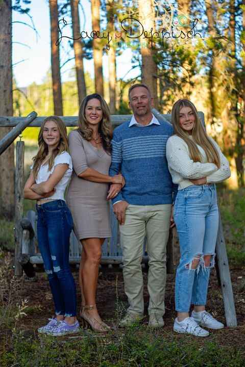 I got to photograph my gorgeous sister, handsome brother-in-law and beautiful nieces in one of the most breathtaking loc...