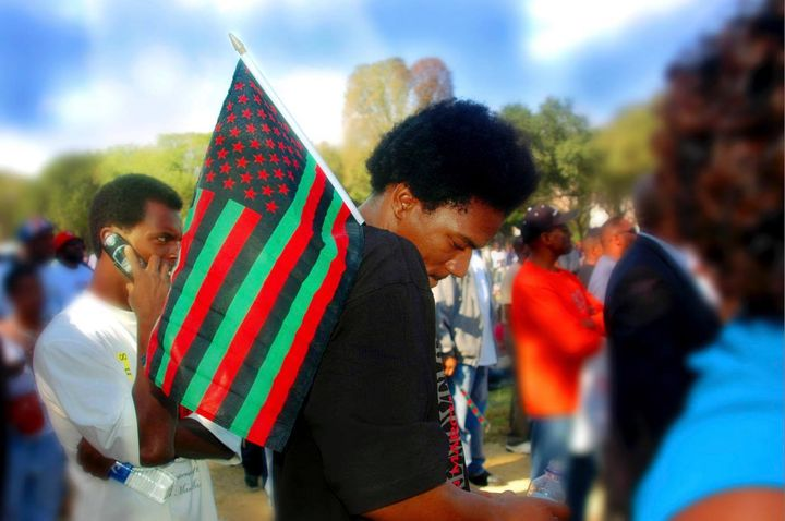 A favorite from my photo archive. The 2nd Million Man March.
