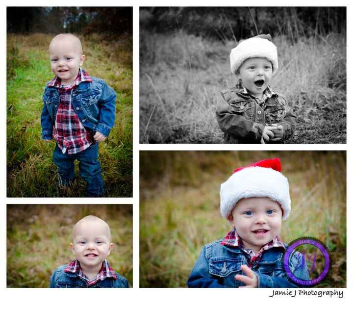 To see more pictures from the Black Family portrait session, click here: http://www.jamiejphotography.com/1/Blog/Entries...