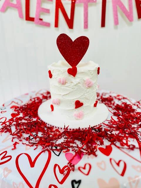 This Valentine's cake is perfect to share with that special someone who holds your heart! Shop this mini cake for $35 on...