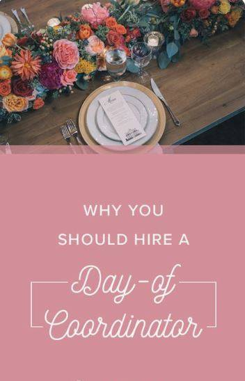 """Great article in the Huffington Post on why every Bride and Groom should hire a Day of Wedding Coordinator! """"Planning th..."""