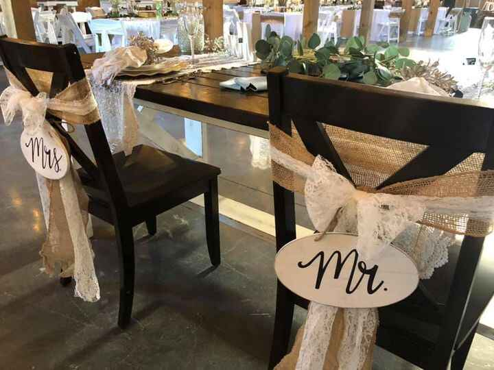 August 8, 2020 • Congratulations Tray & Connor!!•We had a wonderful time decorating The Beck Barn in Forest City, NC for...