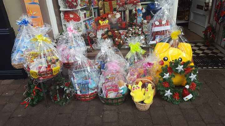 Hampers for Christmas Eve  little stock now