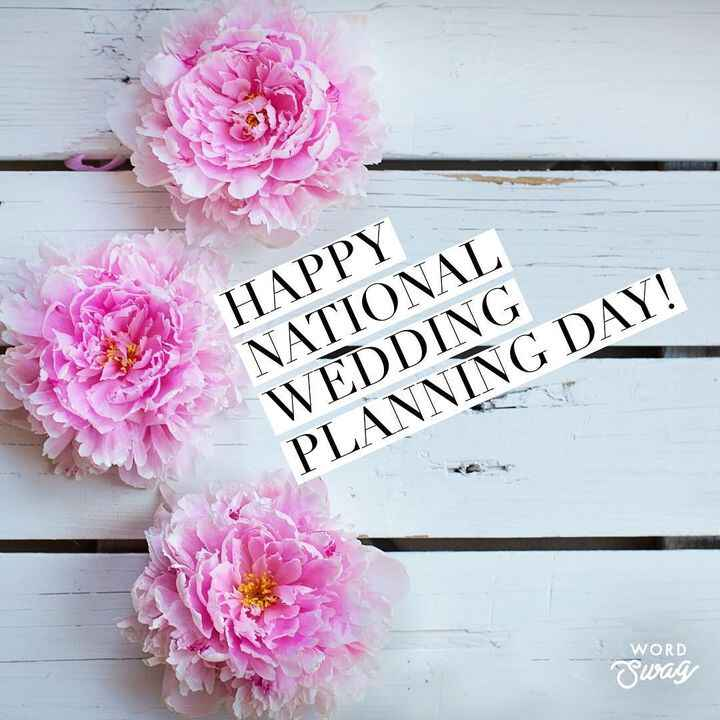 It's #nationalweddingplanningday and we just wanted to say how blessed we are to have the opportunity to work with so ma...