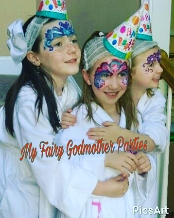 Need a face painter? We have talented face painters available. Serving All Areas. Call Today My Fairy Godmother Parties ...